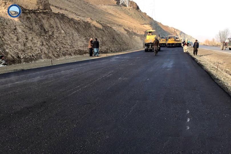 ساختمان لین دوم لات دوم سرک کابل- لوگر ۸۸ فیصد پیشرفت کاری دارد